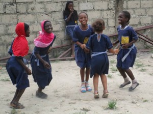 Gambia school children 2